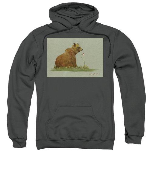 Alaskan Grizzly Bear Sweatshirt