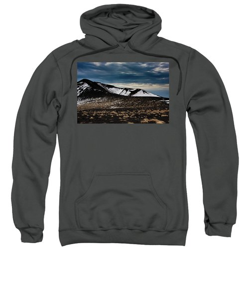 Etna, Red Mount Crater Sweatshirt