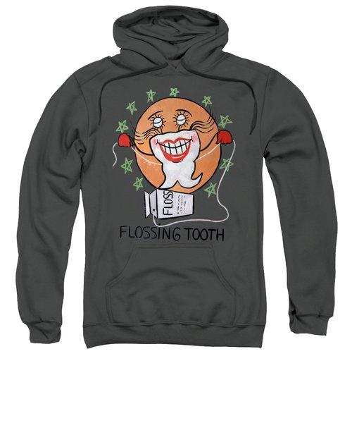 Flossing Tooth Sweatshirt