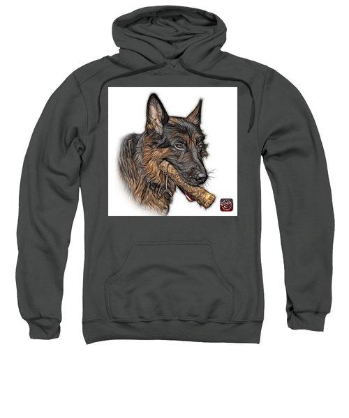 German Shepherd And Toy - 0745 F Sweatshirt