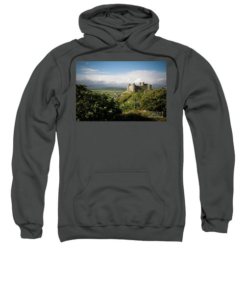 Harlech Castle, Snowdonia, Gwynedd, North Wales, Uk Sweatshirt