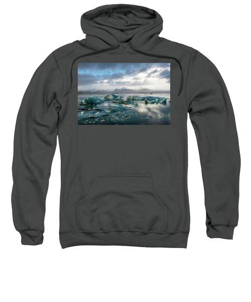 Jokulsarlon, The Glacier Lagoon, Iceland 3 Sweatshirt