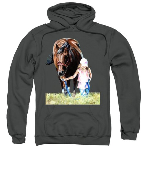 Just A Girl And Her Horse  Sweatshirt