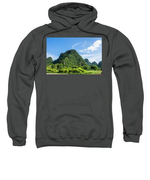 Karst Mountains Scenery Sweatshirt