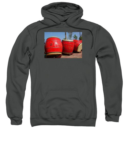 Large Chinese Drums Sweatshirt