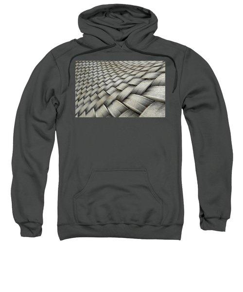 Micro Fabric Weave Dirty Sweatshirt