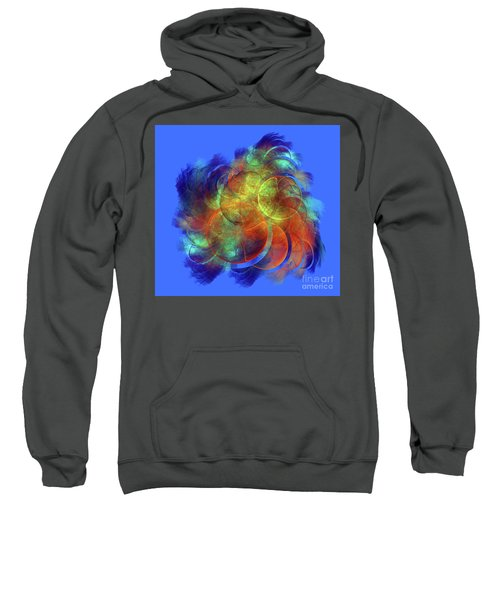 Multicolored Abstract Figures Sweatshirt