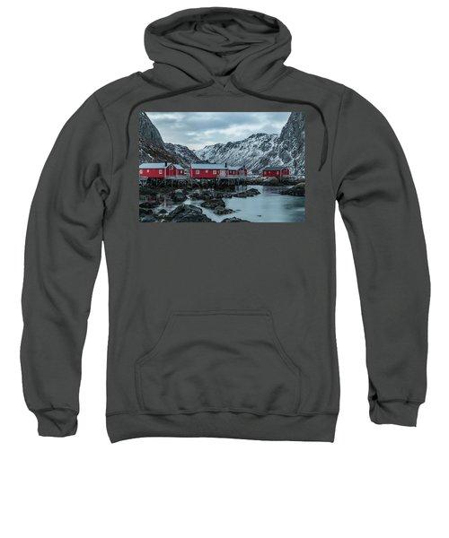 Nusfjord, Lofoten - Norway Sweatshirt