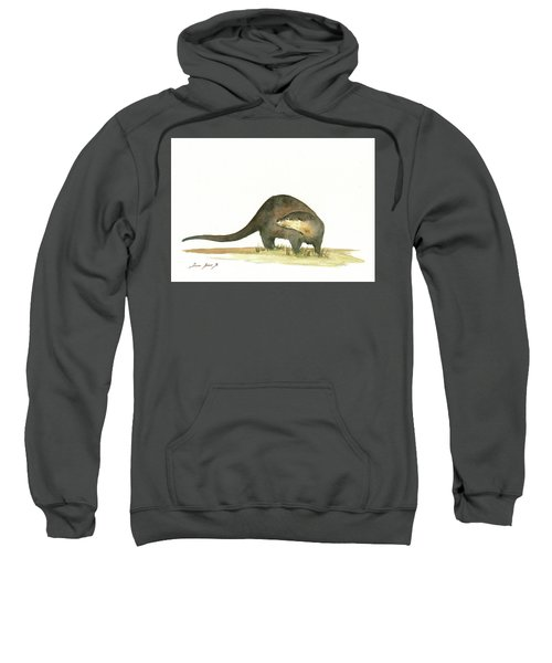 Otter Sweatshirt by Juan Bosco