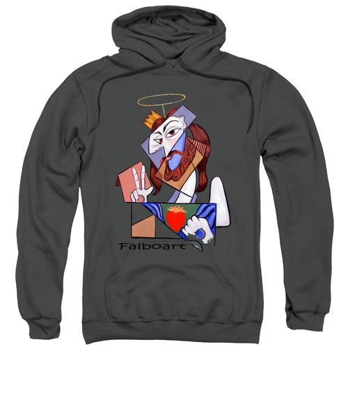 Peace Be With You Sweatshirt by Anthony Falbo