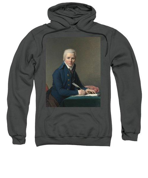 Portrait Of Jacobus Blauw Sweatshirt
