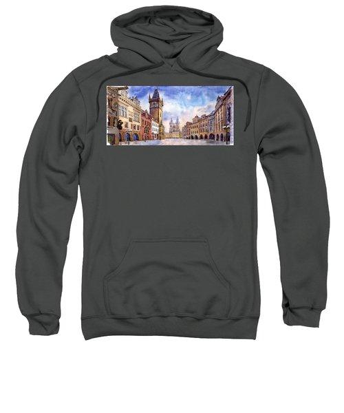 Prague Old Town Square Sweatshirt