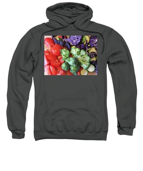 Raw Ingredients Sweatshirt by Tom Gowanlock