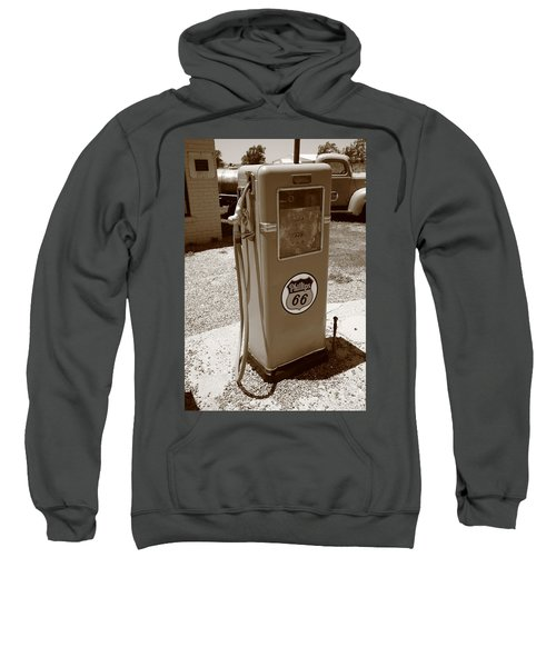 Route 66 Gas Pump Sweatshirt