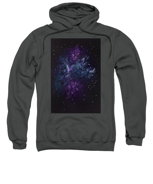 Sketch Of Abstract Design Night Sky Sweatshirt