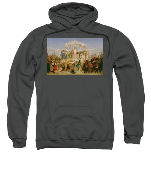 The Age Of Augustus, The Birth Of Christ Sweatshirt