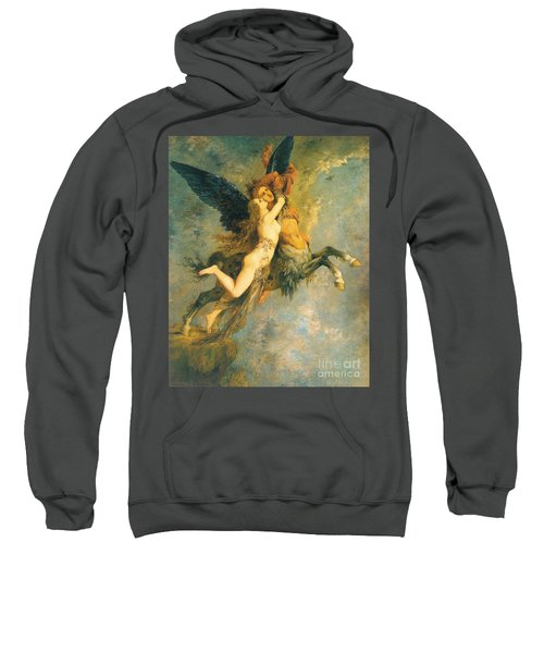 The Chimera Sweatshirt by Gustave Moreau