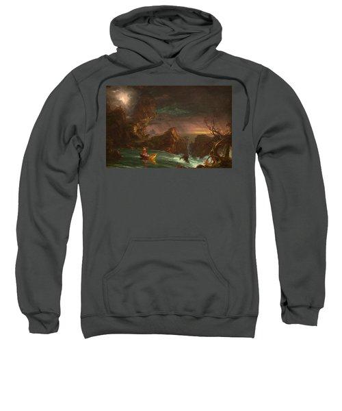 The Voyage Of Life, Manhood Sweatshirt