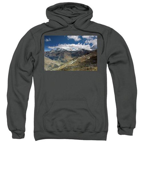 View From Portachuelo Pass Sweatshirt