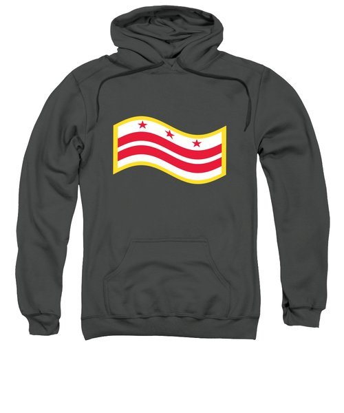 Washington, D.c. Flag Sweatshirt by Frederick Holiday