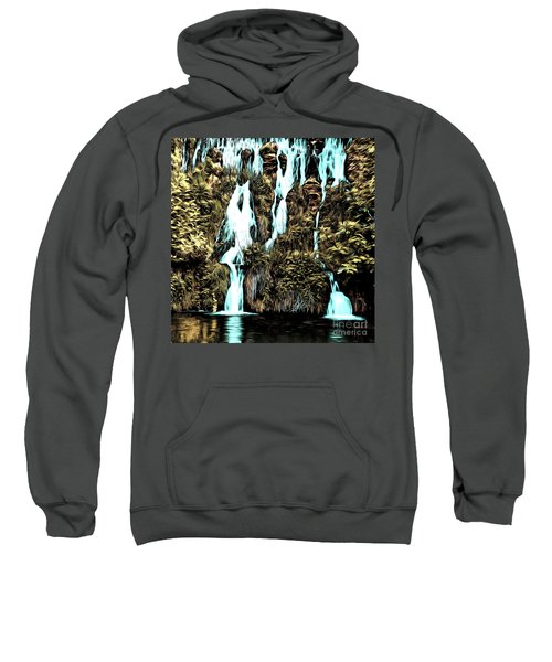 Waterfall Painting Sweatshirt