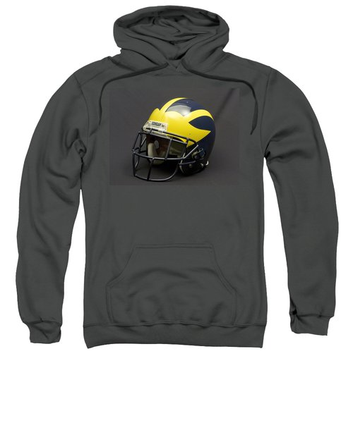 2000s Era Wolverine Helmet Sweatshirt