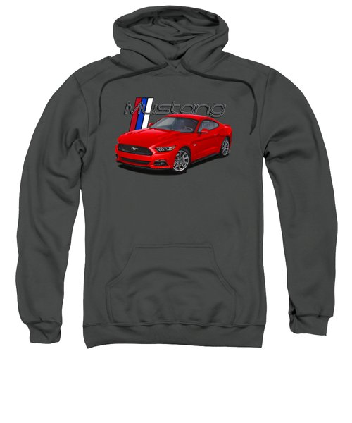 2015 Red Mustang Sweatshirt