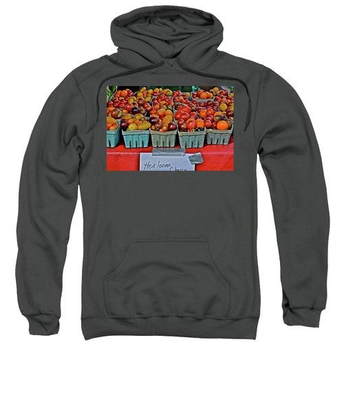 2017 Monona Farmers' Market August Heirloom Cherry Tomatoes Sweatshirt