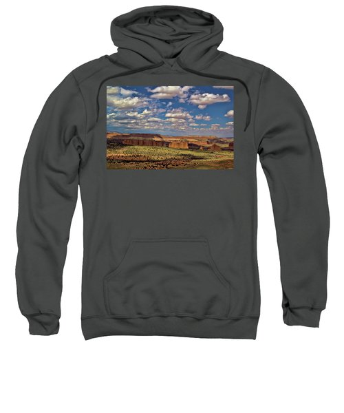 Capitol Reef National Park Catherdal Valley Sweatshirt