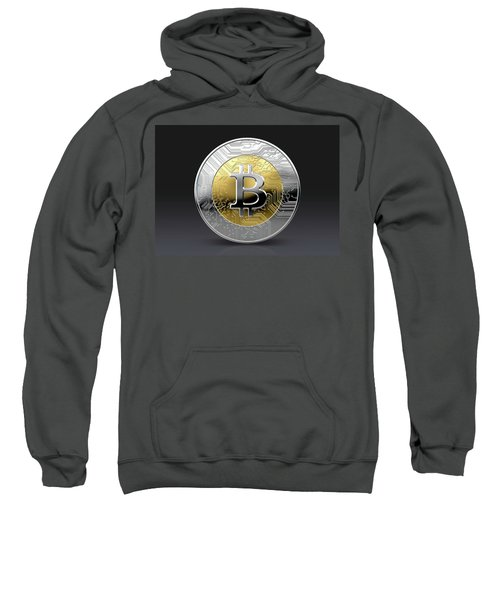 Cryptocurrency Physical Coin Sweatshirt