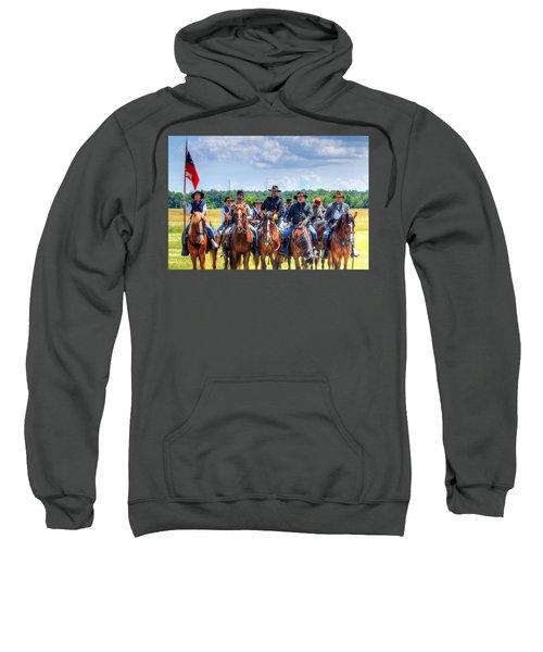 2nd Us Cavalry  Sweatshirt