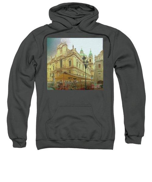 2nd Work Of St. Nicholas Church - Old Town Prague Sweatshirt