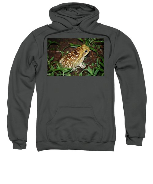 Sweatshirt featuring the photograph Cane Toad by Breck Bartholomew
