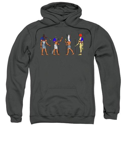 Egyptian Gods And Goddess Sweatshirt