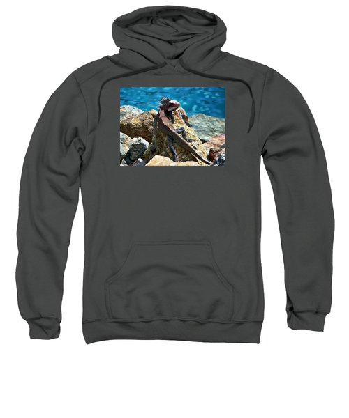 Green Iguana Sweatshirt