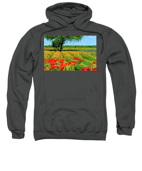 Hill Country In Bloom Sweatshirt
