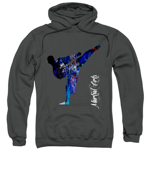 Martial Arts Collection Sweatshirt by Marvin Blaine