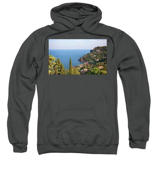 French Mediterranean Coastline Sweatshirt