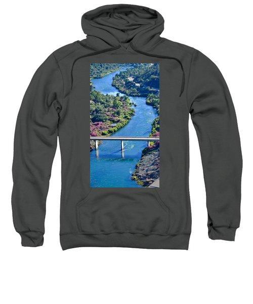 Shasta Dam Spillway Sweatshirt