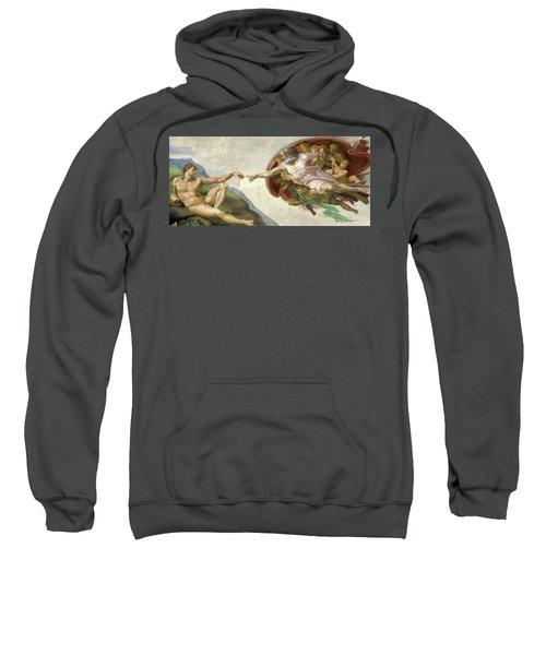 The Creation Of Adam Sweatshirt