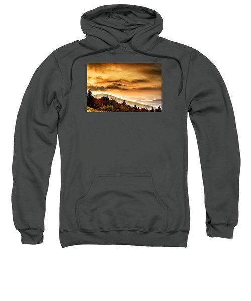 Allegheny Mountain Sunrise #33 Sweatshirt