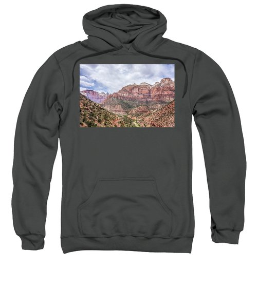 Zion Canyon National Park Utah Sweatshirt