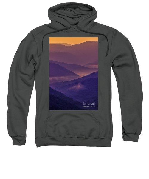 Allegheny Mountain Sunrise Two Sweatshirt
