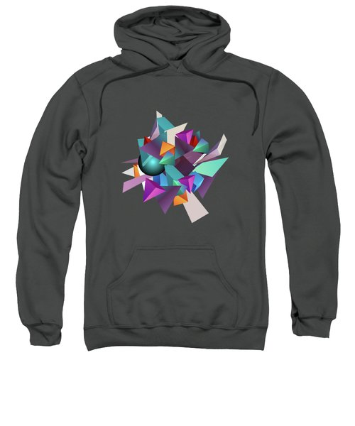 3d Geometric  Sweatshirt