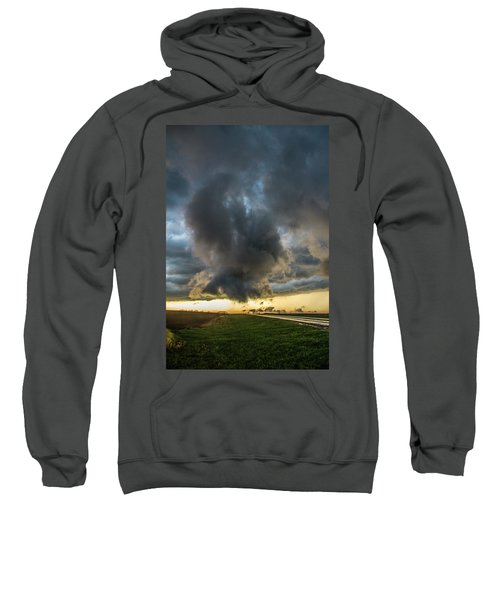3rd Storm Chase Of 2018 050 Sweatshirt