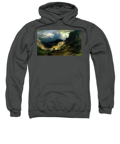 A Storm In The Rocky Mountains Sweatshirt