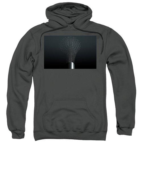Fiber Optics Close Sweatshirt