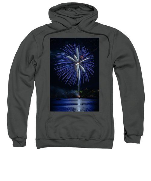 Fireworks Over Portland, Maine Sweatshirt