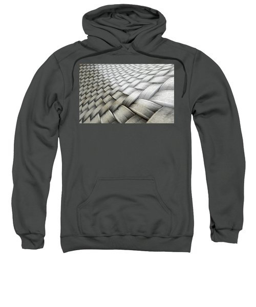 Micro Fabric Weave Comparison Sweatshirt