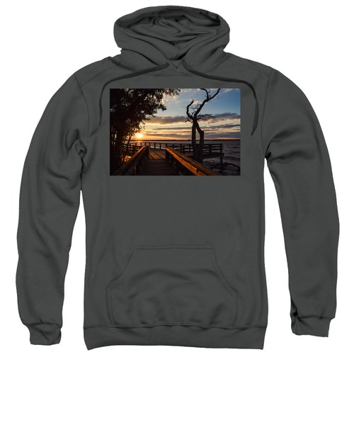 Sunset On The Cape Fear River Sweatshirt